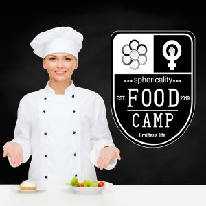 Chef Food Camp Logo